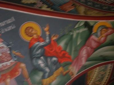 H Αγία Πολυχρονία  καιο ο άγιος Γεώργιος