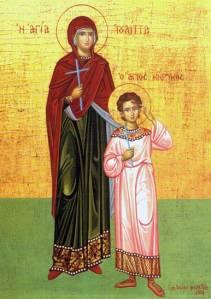 Άγιος Κήρυκος και αγία Ιουλίτα: ένα αγοράκι τριών χρονών και η μητέρα του!