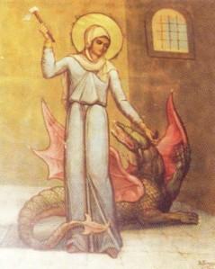 """Η Αγία Μαρίνα η Μεγαλομάρτυς (17 Ιουλίου): μια 15χρονη κοπέλα που νίκησε το διάβολο!ο βίος της (και σε βίντεο για παιδιά)-θαύμα:""""Είμαι η Μαρίνα από την Άνδρο"""""""