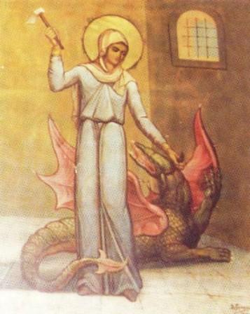 Η Αγία Μαρίνα η Μεγαλομάρτυς (17 Ιουλίου): μια 15χρονη κοπέλα που νίκησε τοδιάβολο!