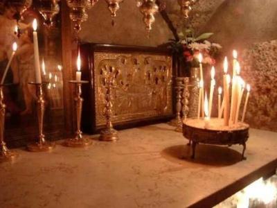 ο τάφος της Θεοτόκου στη Γεσθημανή
