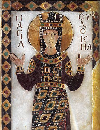 Αγία Ευδοκία η βασίλισσα: Από Αθηναία φιλόσοφος, αυτοκράτειρα του Βυζαντίου  ( † 13 Αυγούστου) | Σημεία Καιρών