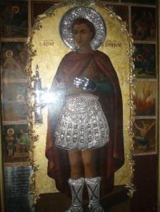 Ο Άγιος Φανούριος: ο βίος του- η εύρεση της εικόνας του-το έθιμο και η ευχή της φανουρόπιτας