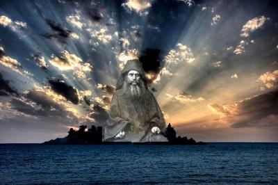 ηλιοβασίλεμα θάλασσα άγιος Σιλουανός
