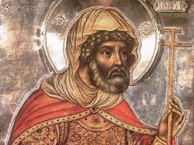 Άγιος Λογγίνος- ο Εκατόνταρχος τηςΣταύρωσης (16Οκτωβρίου)