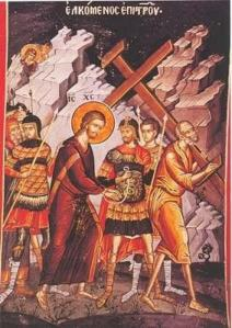 Άγιος  Λογγίνος- ο Εκατόνταρχος της Σταύρωσης