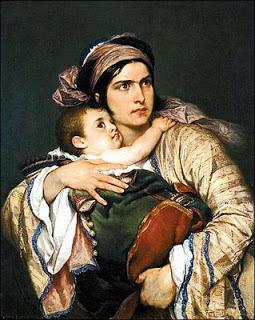 """""""Η Ελληνίδα μητέρα"""" : ποίημα του Διονυσίου Σολωμού"""