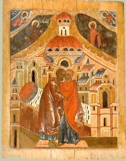 Η Σύλληψη της Αγίας Άννης (ένα αφιέρωμα στην μητέρα της Παναγίας μας και γιαγιά του Χριστού- με πολλέςεικόνες)