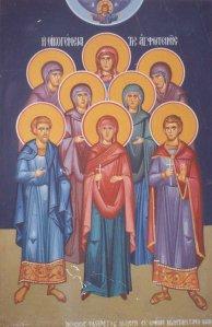 Η αγία οικογένεια της αγ. Φωτεινής της Σαμαρείτιδος-Το αγίασμα της αγίας Φωτίδας και η πίστη του Αγά!