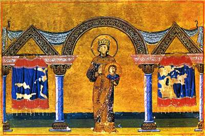 Theodora_in_Menologion of Basil