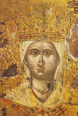 αγία Θεοδώρα, βασίλισσα της Άρτας (φωτο από :http://www.orthodoxmonasteryicons.com/ )