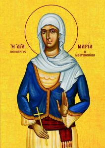 Η Αγία Μαρία η Μεθυμοπούλα (Δια χειρός Γεωργίας Λέλλου)