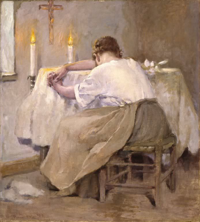 Painting is Her First Born, by Robert Reid, 1888.