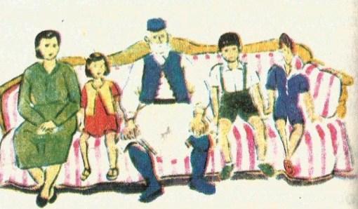 παλιοα αναγνωστικο οικογένεια