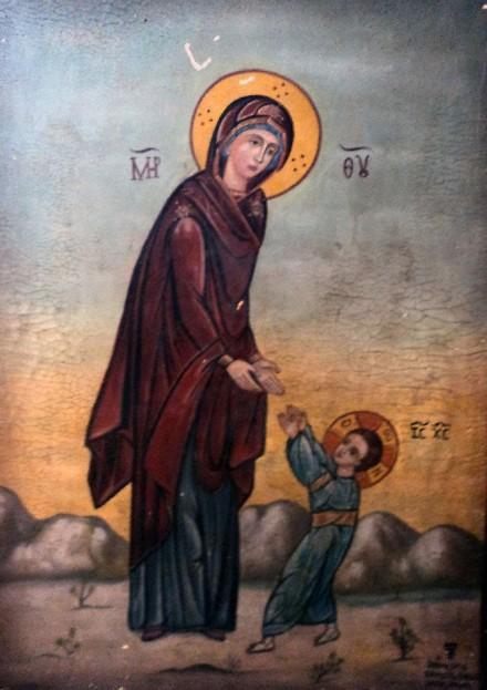 τα πρώτα βήματα του Χριστού