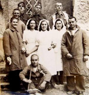 Αποτέλεσμα εικόνας για νοσοκομα 1940 τραυματιες