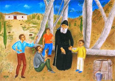 Αποτέλεσμα εικόνας για αγιοσ παισιοσ ο αγιορειτησ