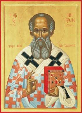 Αποτέλεσμα εικόνας για Άγιος Νήφων Πατριάρχης Κωνσταντινούπολης